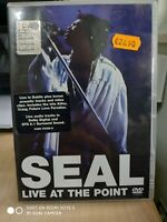 SEAL - LIVE AT THE POINT DVD MUSICALE OTTIMO
