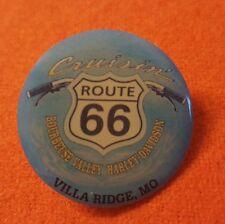 HARLEY DAVIDSON DEALER PIN ROUTE 66 VILLA RIDGE MO BOURBEUSE VALLEY