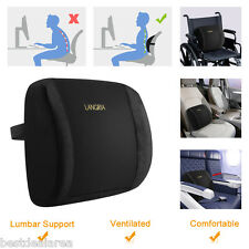 Memory Foam Lumbar Back Cushion Pillow Support for Car Seat Home Office Chair US
