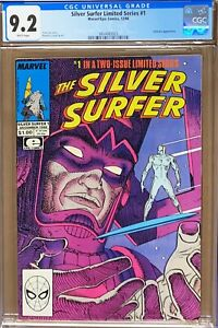 Silver Surfer Limited Series #1 CGC NM 9.2 White Pages