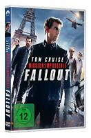 Mission: Impossible - Teil: 6 - Fallout [DVD/NEU/OVP] Tom Cruise, Henry Cavill,