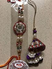 Rakhi-LUMBA LOOMBA -BHAIYA BHABHI- BROTHER BRACELET-LOT 2-HINDU-INDIA-USA SELLER