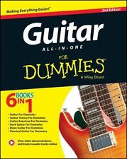 Guitar All-In-One For Dummies, Book + Online Video & Audio Instruction, Hal Leon