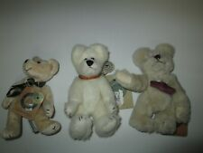 Boyds Teddy Bear Lot of 3 Gary / Toodle Padoodle / One with Dog Collar