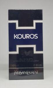 Vintage Formula YSL KOUROS Yves Saint Laurent 50ml EDT Spray Sealed Box Original