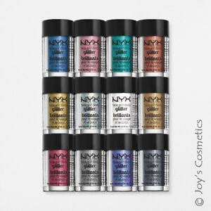 "3 NYX Glitter Powder Face & Body Pigment ""Pick Your 3 Color"" *Joy's cosmetics*"