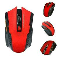 2.4Ghz Wireless Optical Gaming Mouse Mice & USB Receiver