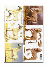 3D Bogen Motivbogen Etappenbogen Bastelbogen Pferd Pferde (009)