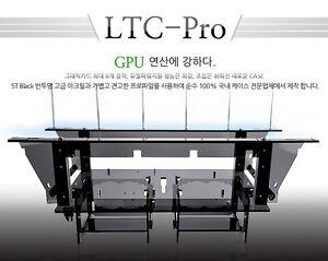 Open Air Frame Case BTC LTC 6way VGA Acryl plastic Unlimited mining computer EXP