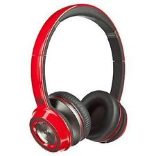 New Monster NTune On-Ear Headphones  Candy Apple Red
