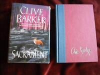 Clive Barker - SACRAMENT - 1st/1st