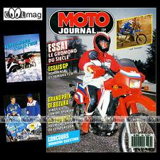 MOTO JOURNAL N°786 KAWASAKI KLR 650, YAMAHA TZR 250 YZR HONDA NSR, TOUQUET 1987