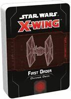 X-Wing Star Wars 2ND Edition First Order Schaden Deck