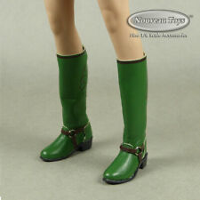 1/6 Scale Phicen, TBLeague, Cat Toys Female Green Cow Girl Boots (Hollow Inside)