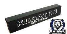 Kubotan Key Chain Self Defence - BLACK - Flat End