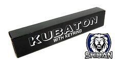 Kubotan Key Chain Self Defence - BLACK - Flat End