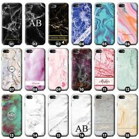Personalized Marble Phone Case/Cover for Apple iPhone Initial/Text/Name/Custom