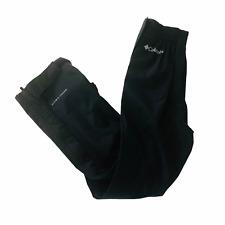 NWT Columbia Omni-Tech Pants Boys Waterproof Breathable Pants Size XS Black