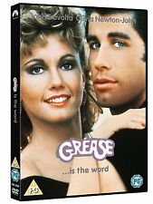 Grease [DVD] [1978] John Travolta, Olivia Newton-John, Stockard New and Sealed