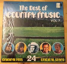 The Best Of Country Music Vol.7 24 Original Hits/Stars 1973 K-tel VG+