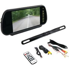 "Pyle Rear View Backup Camera Car Parking Bluetooth 7"" Mirror Mount Display"