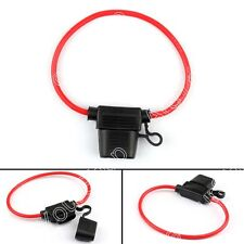 4Pcs Mini Blade Fuse Holder Waterproof 12AWG In-Line Wire Cable For Car/Boat