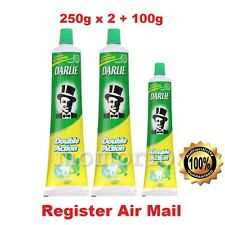 Darlie Double Action Toothpaste Natural Mint Jumbo Size (2 x 250g + 100g)-Value