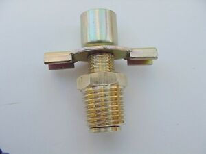 """Fits Dodge 1963-1996 Radiator Petcock Drain Valve 1/4"""" NPT w/ Outlet Fitting NOS"""