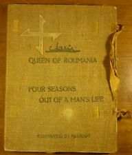 1915 QUEEN MARIE of ROMANIA Four Seasons out of a Man's Life INSCRIBED