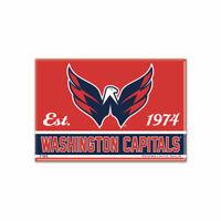 Washington Capitals Foto Magnet mit Logo NHL Eishockey Team Gründungsjahr