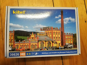 Kibri Cold Store and Brewery HO Scale b5