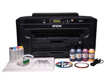 Epson 7110 dtw Sublimation ink printer bundle - A3 printer + 4 x 100ml