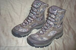 Womens 9.5 Camo Boots Goretex Boots Danner Boots Insulated Camo Hunting Boots