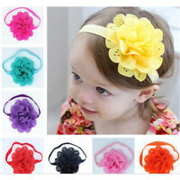 Lovely Baby Girl's Headband Toddler Lace Bow Flower Hair Band Accessories Kit