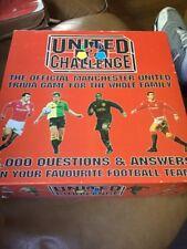 United desafío-oficial de Manchester United Fútbol-juego de Trivia Juego De Mesa