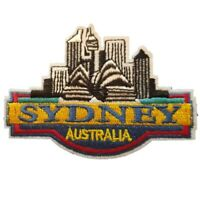 Australia Sydney CIty Iron On Patch Sew on Embroidered New - Sydney Australia