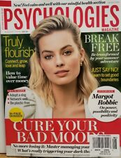 Psychologies Magazine UK Aug 2019 Margot Robbie Cure Bad Moods FREE SHIPPING CB