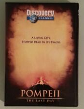 discovery channel  POMPEII THE LAST DAY     DVD
