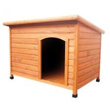 Outdoor per cani grande in legno House Kennel Casa Giardino Shelter locakble PORTA