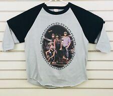 Vtg Alabama 40 Hour Week Tour '85 T Shirt Adult L Layered Band Concert Tee Black