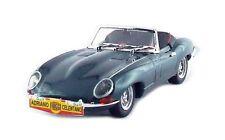 Jaguar Type E Cabriolet Vert Métallisé Adriano Celentano 1962  Best 1/43
