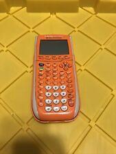 Texas Instruments Ti-84 Plus Silver Edition Graphing Calculator - Orange