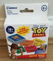 Disney Pixar Toy Story Trivia Quiz Game 50 Cards - 2 to 4 players Age 6+