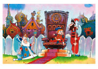 Вовка в Тридевятом царстве /  Art  Russian modern Postcard  Gift