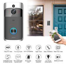 Wireless WiFi DoorBell Smart Video Phone Door Visual Ring Intercom Secure Camera