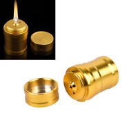 Outdoor Mini Portable Travel Camping Metal Lighter Alcohol Lamp Ignition Tool