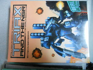 Rifts world book #5 triax and the ngr