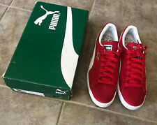 Puma Suede Classic High Risk Red White sz 9.5