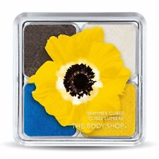 "*New* The Body Shop Limited Edition Shimmer Cubes Eyeshadow Quad 31 ""Yellow"""