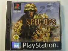 PLAYSTATION PS1 Gioco SPEC-OPS Airborne, usato ma bene